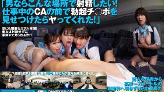[DANDYVR-001] [VR] 3DVR360: Places That Men Want To Cum! The Cabin Attendant Agreed To Take Care Of My Hard-On During Work! - R18