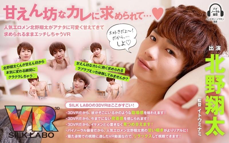 [VRSL-002] [VR] Sweet Boyfriend Shota Kitano Begs You To Cuddle And Things Lead To Sex VR - R18