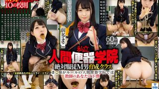 [VRXSVR-003] [VR] Private Public Urinal Academy - Male Sub's Total Obedience Class - Mako Maeda - Golden Shower/Poo/Puke/Spit/Eating/Licking/Handjobs/Blowjobs/Strap-On Torment - R18